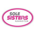 Sole Sisters Running Club Sticker