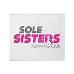 Sole Sisters Running Club Throw Blanket