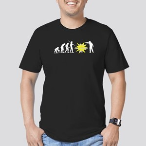 Stop Following! Men's Fitted T-Shirt (dark)