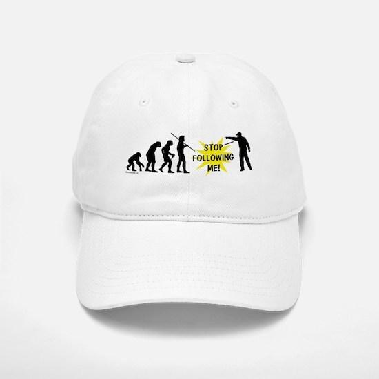 Stop Following! Baseball Baseball Cap