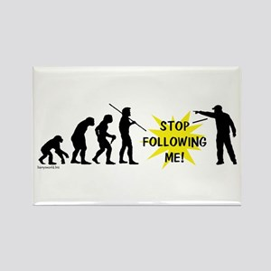 Stop Following! Rectangle Magnet (10 pack)