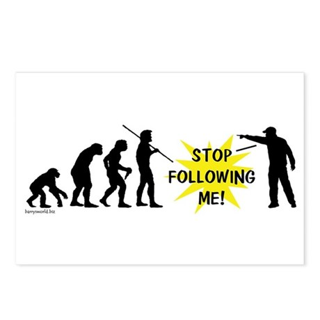 Stop Following! Postcards (Package of 8)