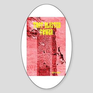 Brett Fletcher Oval Sticker