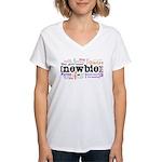 Girl's Name Women's V-Neck T-Shirt