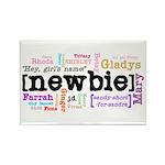 Girl's Name Rectangle Magnet