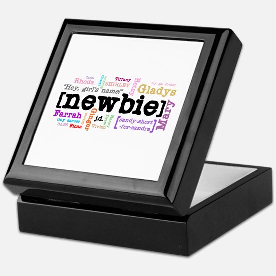 Girl's Name Keepsake Box