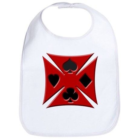 Ace Biker Iron Maltese Cross Bib