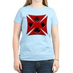 Ace Biker Iron Maltese Cross Women's Light T-Shirt