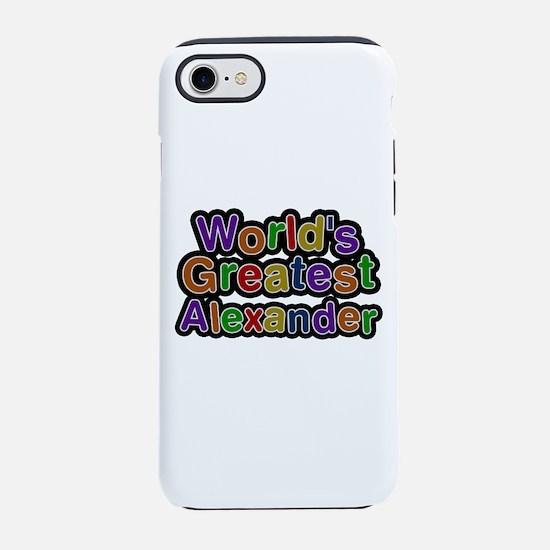 World's Greatest Alexander iPhone 7 Tough Case