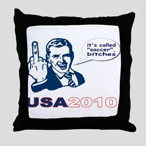 USA 2010 Throw Pillow