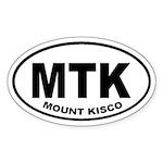 Mount Kisco MTK Oval Sticker