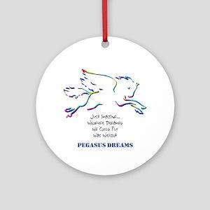 Pegasus Dreams Ornament (Round)