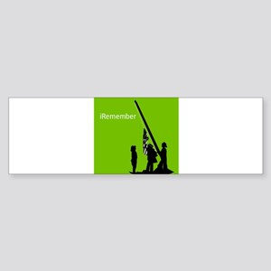 9/11 iRemember Sticker (Bumper)
