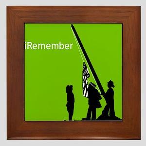 9/11 iRemember Framed Tile