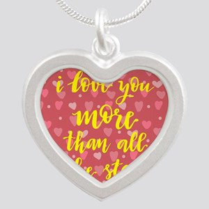 i love you more than all the stars Necklaces