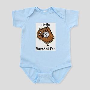 Little Baseball Fan Infant Creeper