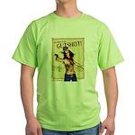 Gutshot Chick Green T-Shirt