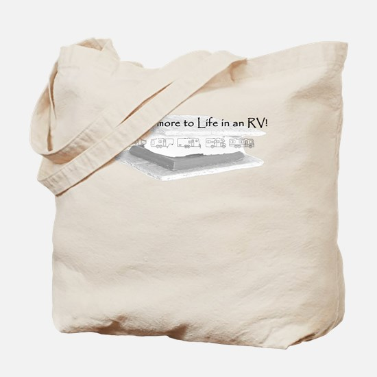 There Smore to Life in an RV! Tote Bag