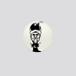 Muhammad Cartoon Mini Button