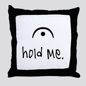 hold me (light) Throw Pillow