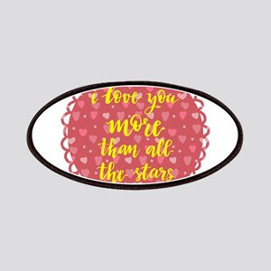 i love you more than all the stars Patch