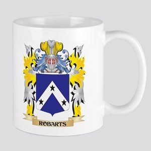Robarts Family Crest - Coat of Arms Mugs