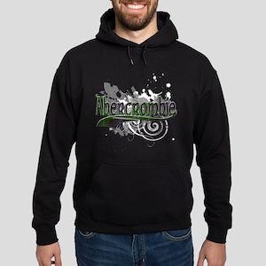 Abercrombie Tartan Grunge Hoodie (dark)