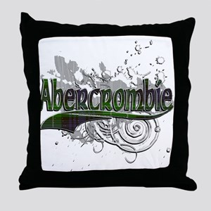 Abercrombie Tartan Grunge Throw Pillow