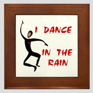 RAIN DANCER Framed Tile