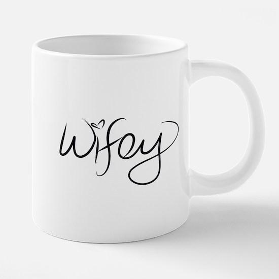 Wifey 20 oz Ceramic Mega Mug