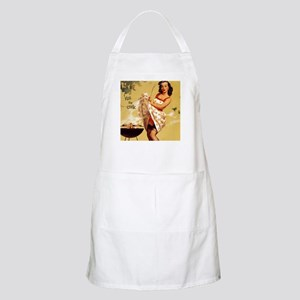 Kiss the Cook Grill Pinup Apron