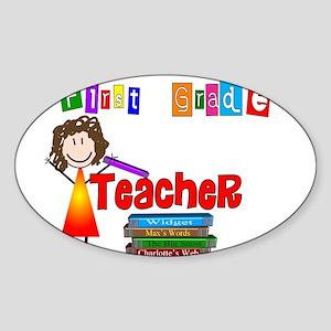 Elementary Sticker (Oval)