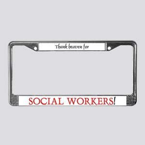 Thank Heaven SW BRT License Plate Frame