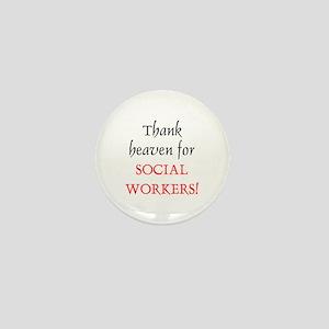 Thank Heaven SW BRT Mini Button