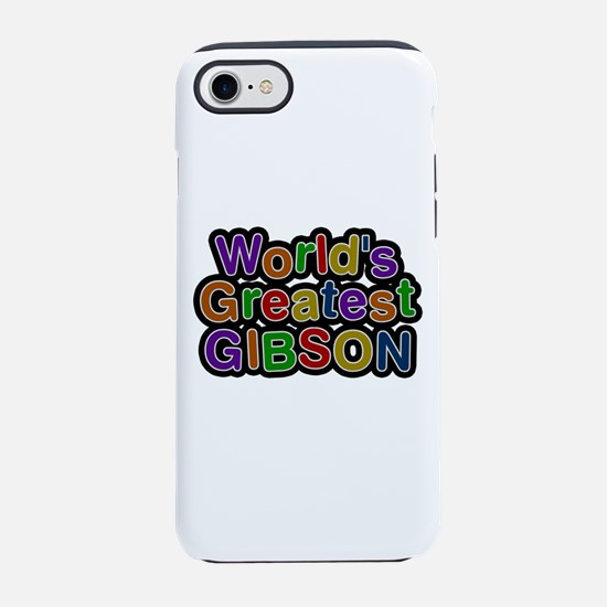World's Greatest Gibson iPhone 7 Tough Case