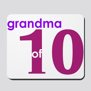 Grandma Nana Grandmother Shir Mousepad