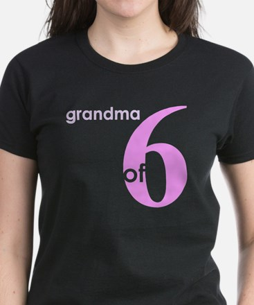 Grandma Nana Grandmother Shir Women's Dark T-Shirt