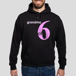 Grandma Nana Grandmother Shir Hoodie (dark)