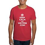 KEEP CALM WDTPRS.COM Dark T-Shirt