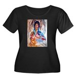 Virgin and Child Plus Size T-Shirt