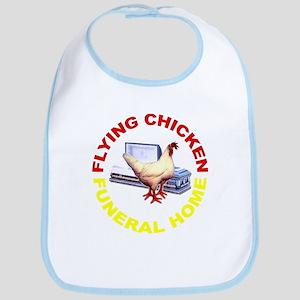 Flying Chicken Funeral Home Bib