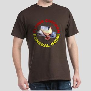 Flying Chicken Funeral Home Dark T-Shirt
