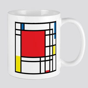 Mondrian Mugs