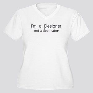 8d9b70ad26a Interior Designer Women s Plus Size T-Shirts - CafePress