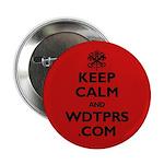 """KEEP CALM WDTPRS.COM 2.25"""" Button"""