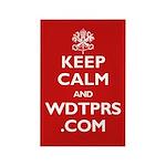 KEEP CALM WDTPRS.COM Rectangle Magnet