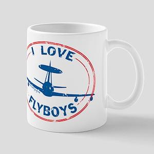 I Love Flyboys E-3 Mug