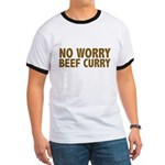 No Worry Beef Curry Ringer T