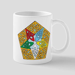 Eastern Star Celtic Knot Mug