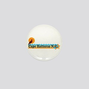 Cape Hatteras NC - Beach Design Mini Button